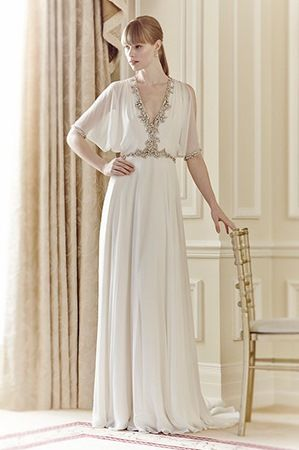 Jenny Packham 2014 Bridal Collection. Read more - http://www.hummingheartstrings.de/index.php/hochzeitsmode/jenny-packham-…ahrsommer-2014/