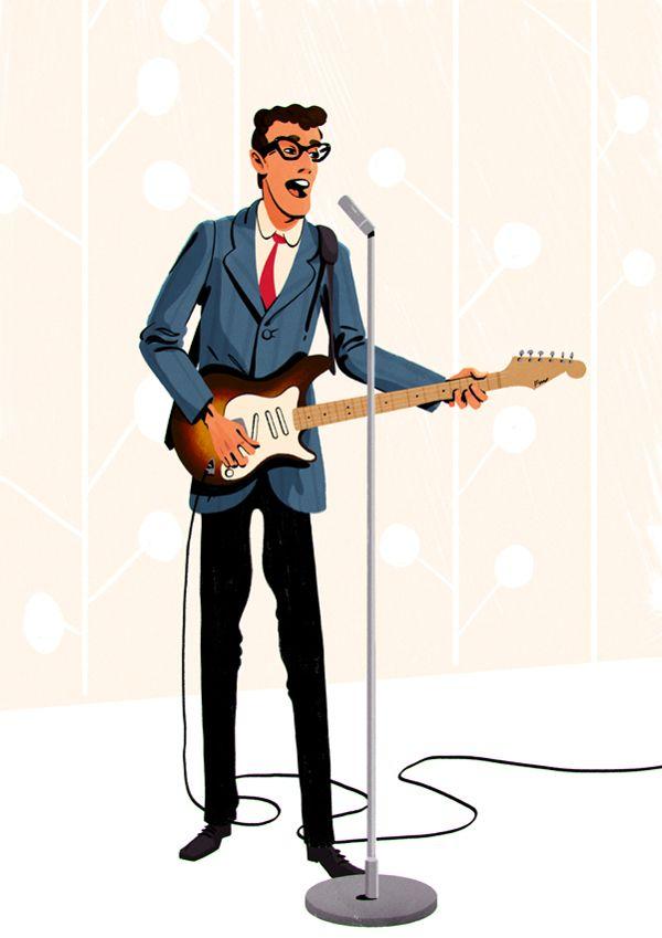 Lyric everyday lyrics buddy holly : 38 best Buddy Holly Reimagined images on Pinterest | Buddy holly ...