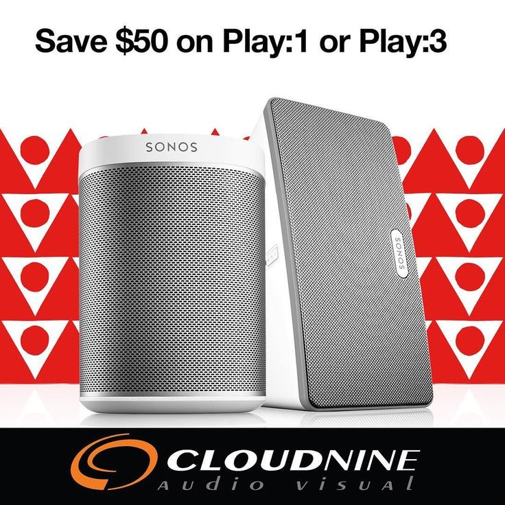 @sonos Black Friday special on the amazing play 1 and play 3 ... $50 off. We deliver and setup anywhere in the GTA.  c9av.net/sonos  #interiordesign  #sonos  #homeautomation  #smarthome  #wirelessspeaker #wholehomeaudio #distributedaudio #leaside #sonoshome  #blackfriday #itsnotthanksgivingincanada  #thanksgivingmusic