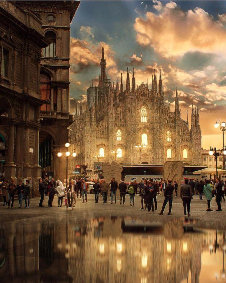いいね!92.2千件、コメント569件 ― Wonderful Placesさん(@wonderful_places)のInstagramアカウント: 「Il Duomo, Milan - Italy ✨❤️❤️❤️✨ Picture by ✨✨@jan9.0✨✨ . #wonderful_places for a feature ❤️」