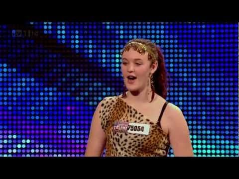 Cutest dog ever!  Ashleigh and Pudsey HD - Britains got talent 2012 (auditions)
