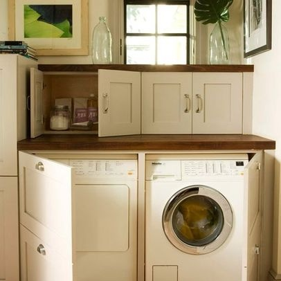 Charmant Laundry Photos Under Counter Washer Dryer Design, Pictures, Remodel, Decor  And Ideas