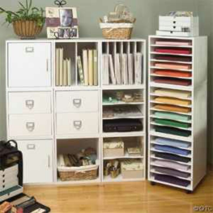 Genial Scrapbook Storage Ideas