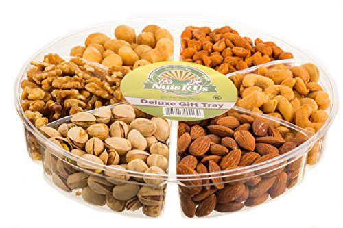 Gourmet Nut Gift Tray 6 Section (1 Pound) ** Freshly Roasted Mixed Nuts Tray ** Anniversary Birthday Gourmet Nuts Gift Basket - http://mygourmetgifts.com/gourmet-nut-gift-tray-6-section-1-pound-freshly-roasted-mixed-nuts-tray-anniversary-birthday-gourmet-nuts-gift-basket/