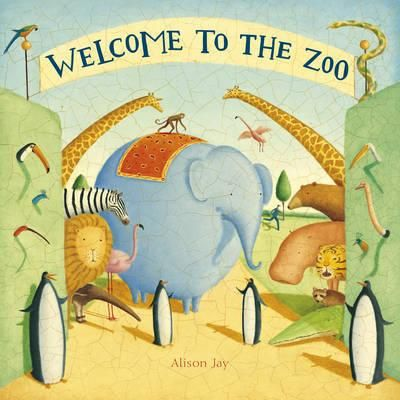 Alison-Jay-has-created-her-own-zoo-in-which-the-animals-outwit-the-zoo-keepers-Brimming-with-small-stories-and-enchanting-details-to-spot-throughout-this-wordless-board-book-invites-curious-eyes-to-explore-Alison-Jays-beautiful-and-humorous-illustrations