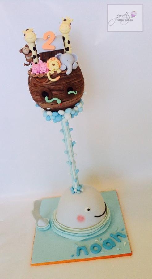 Noah's ark! - Cake by Rachel.... Pretty little cakes x