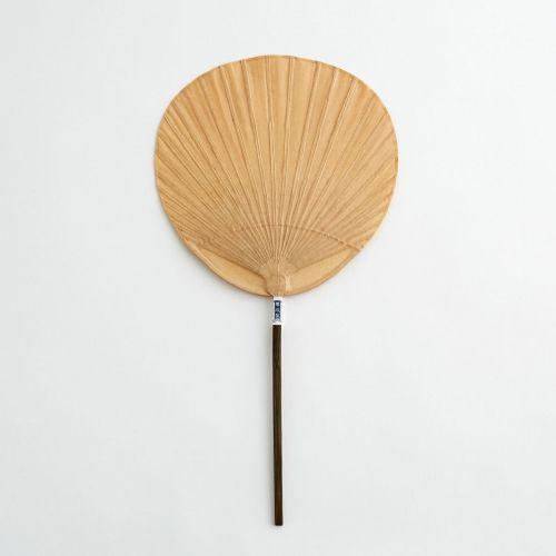 Shibu Uchiwa Shomaru - Round Fan (natural)