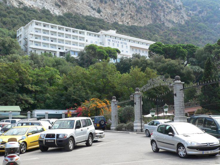 Alameda Gardens Entrance, Rock Hotel, Gibraltar, 20.09.06