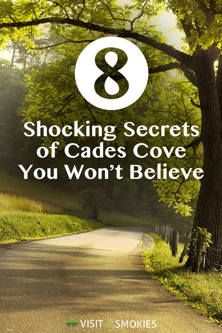 8 Shocking Secrets of Cades Cove You Won't Believe http://www.visitmysmokies.com/blog/smoky-mountains/8-shocking-secrets-cades-cove-wont-believe/