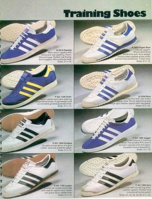 on sale 0bef9 b42fe Period brochure shot featuring Gazelle and Rom s amongst others.
