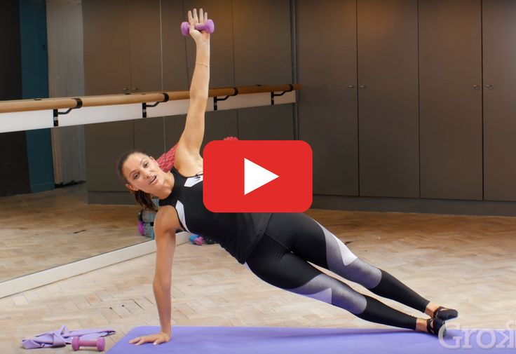 Strengthen and lengthen every major muscle group in the comfort of your own home. http://greatist.com/move/barre-workout-video