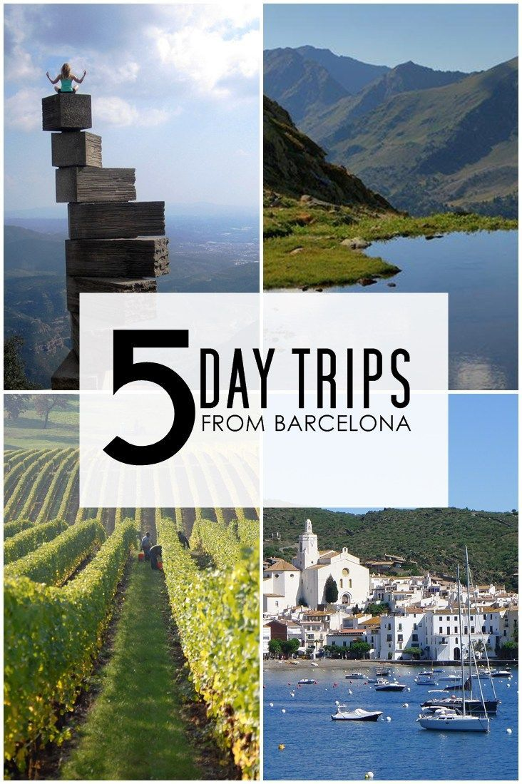 5 Day trips from Barcelona Spain