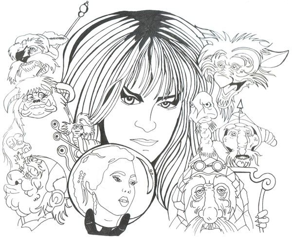 labyrinth coloring pages google search