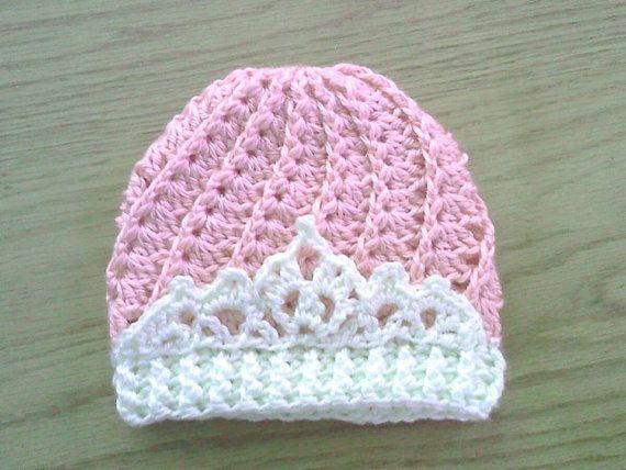 Divine Tiara Hat Crochet Tiara Princess Hat by DimplesAndGiggles12, $23.00