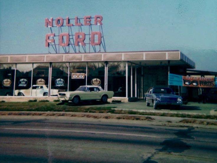 Mustang Vintage Dealership Shot 1965
