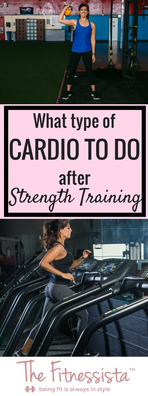 What type of cardio to do after strength training -- helpful post from @fitnessista