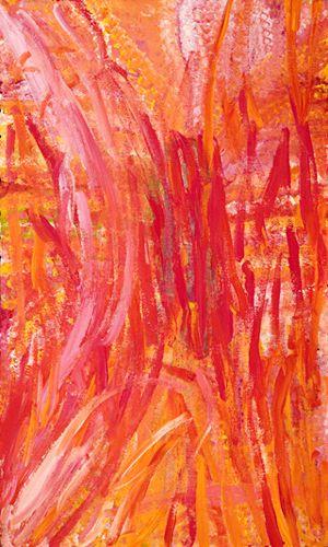 Emily Kame Kngwarreye ~ Untitled
