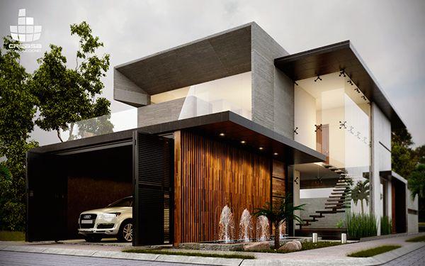 Top 02 house creasa construcciones modern architecture for Construcciones de casas modernas