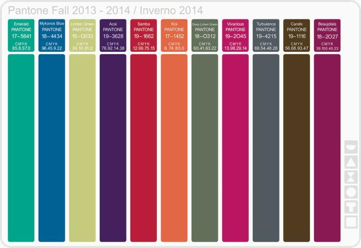 Recipiente Moda: Cartela de Cores Inverno 2014 - Pantone: Pantone 2014, Cores Sumer, Moda Inverno 2014, Colori Moda, Colors De Moda 2014, Cores Inverno, 20132014 Winterinvierno, Cartela De Cores, Color