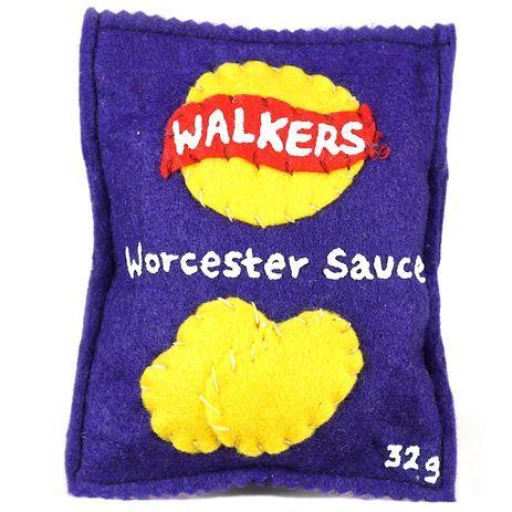 Lucy Sparrow - Walkers Crisps - Worcester Sauce / Editions / No Walls Gallery, Brighton