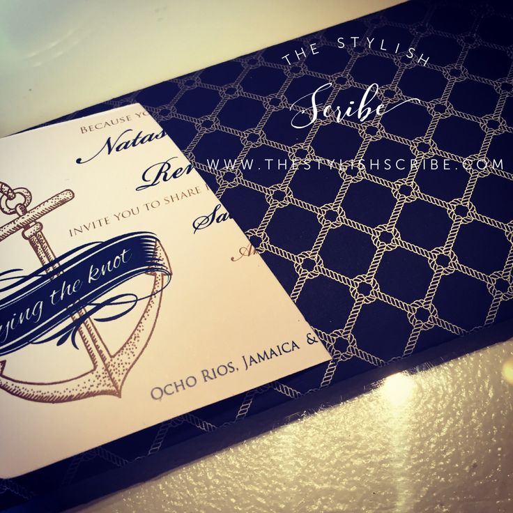 cruise wedding save the date announcement%0A Nautical boarding pass invitation  Save the date  Cruise wedding invitation