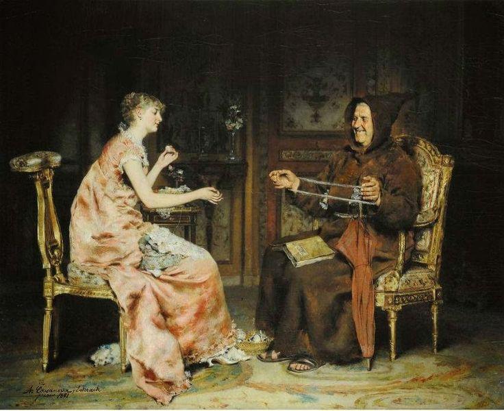 Κορίτσι με τον αδελφό (1881)