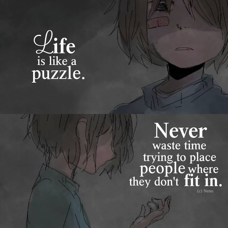 Anime Sad Girl Quotes Pics: 202 Best Anime-Quotations Images On Pinterest