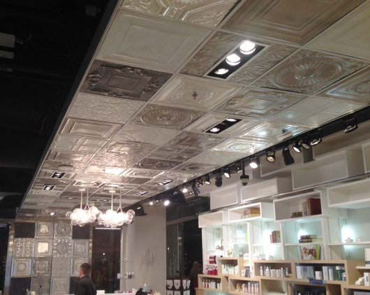 12 Best Decorative Ceiling Tiles Work Images On Pinterest Tile S Metal And Roof