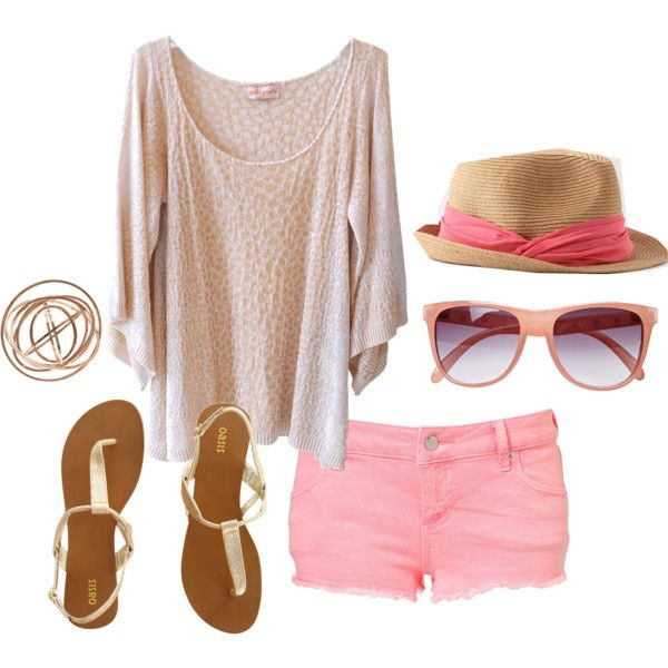 get the look at www.studentrate.com with urban Outfitters, Forever 21, ASOS and more: Pink Shorts, Summer Fashion, Beach Outfit, Summer Looks, Style, Clothes, Dream Closet, Summer Outfits, Has
