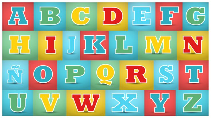 Decora la habitación de tu bebé con estas letras para que comience a familiarizarse con ellas @Toobys #infantil #Toodler #Learning #Kids