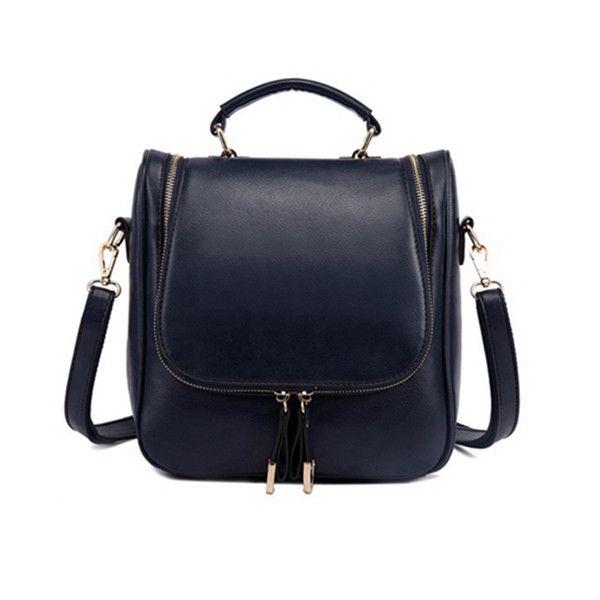 Casual Multifunctional Women's Shoulder Backpack/Diagonal Handbag