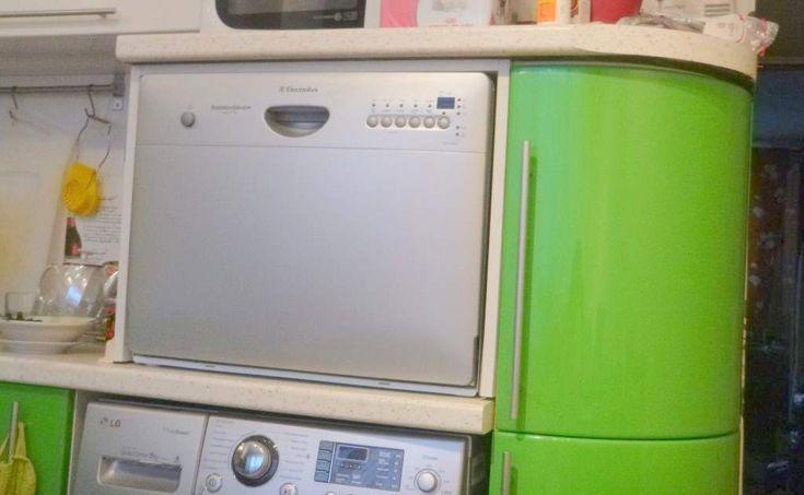 Маленькие посудомоечные машины  Электролюкс ESF2450