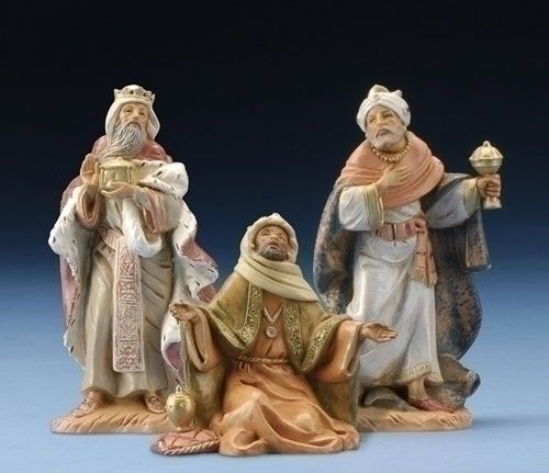 "5"" Three Kings- Item# 71187. #Fontanini #ThreeKings"