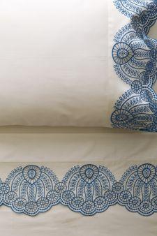 #Anthropologie #PinToWin Eyelet Embroidered Sheet Set