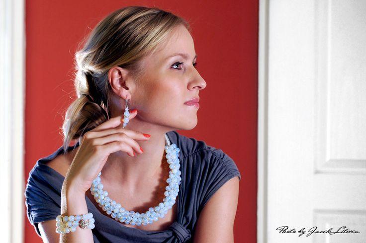 PORANNA ROSA  Modelka: Magdalena Make up: Katarzyna Rostkowska Fot. Jacek Litwin