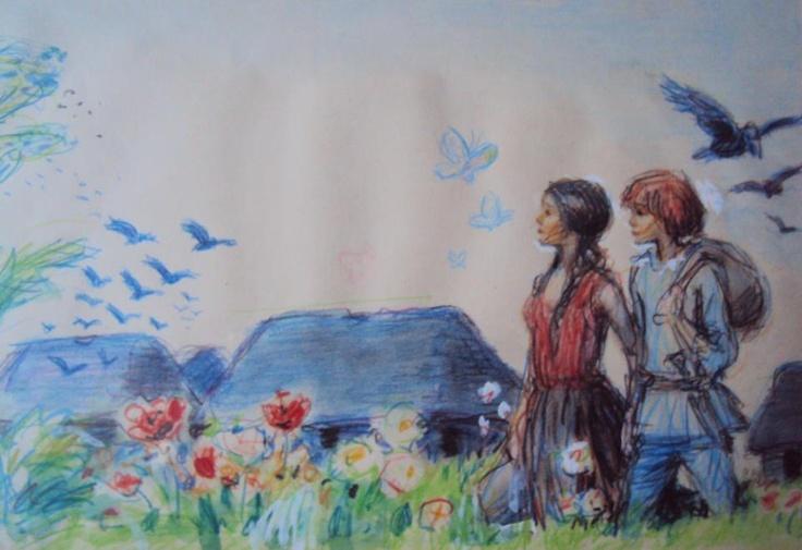 Tegning af Thormod Kidde