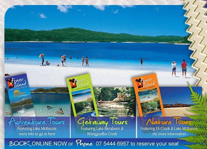 Fraser Island Adventure Tours | Day tours
