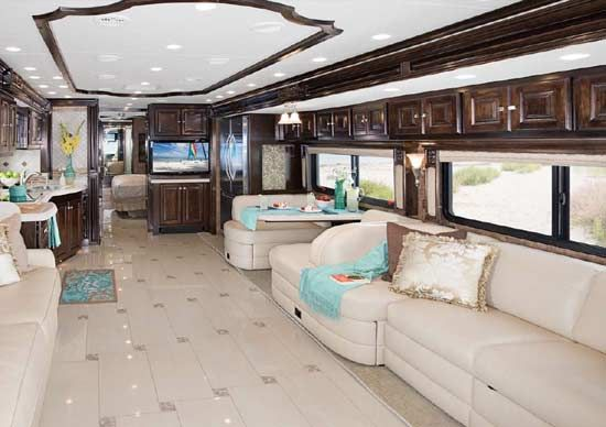 Talk about space!  But too much glam for my taste.