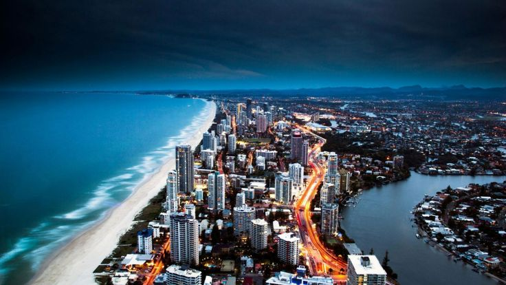 Surfer's Paradise aerial view!