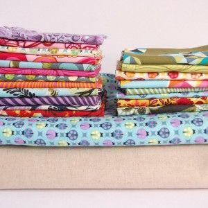 Point Me Quilt Kit - Warp & Weft | Exquisite Textiles