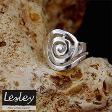 Anillo espiral Lesley Silver Design.