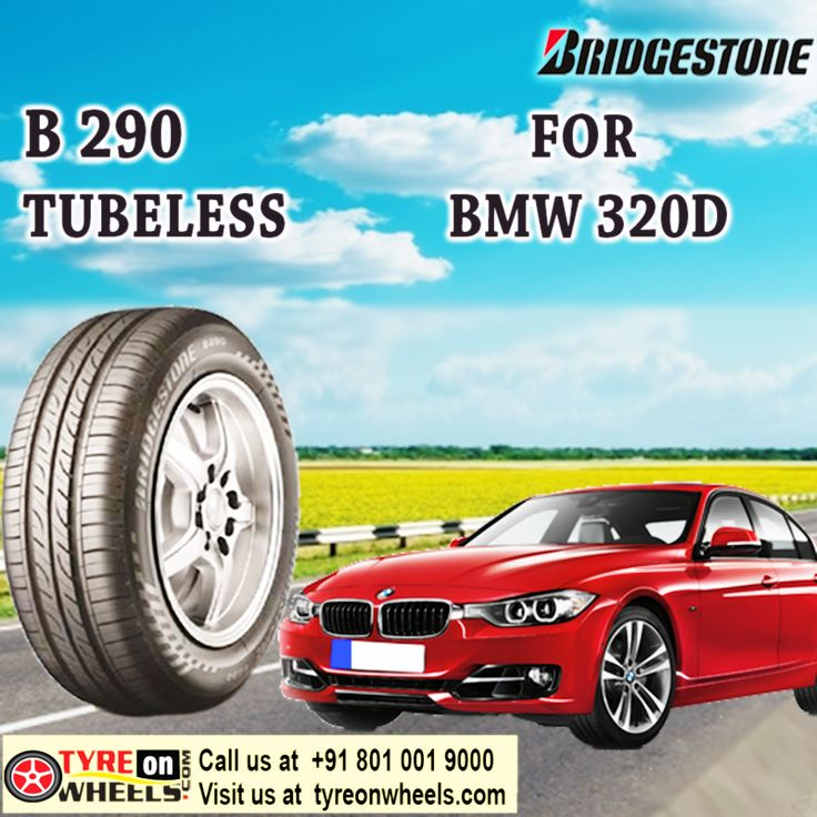 Buy Tyres Online of BMW 320D of Bridgestone B 290 Tubeless Tyres and also get fitted with Mobile Tyre fitting Vans at your doorstep at Guaranteed Low Prices buy now at http://www.tyreonwheels.com/car/tyres/BMW/3%20Series/320d/car_manufact/vm/5/New-Delhi