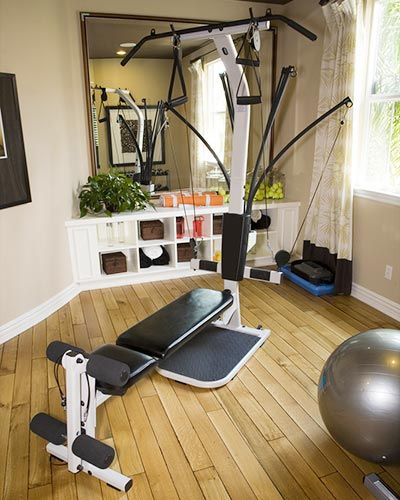 102 best exercise rooms images on pinterest exercise for Small exercise room