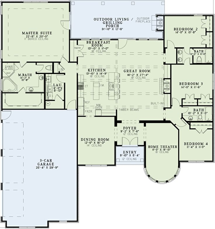 Holle 39 s amara tierra house floor plan our future house for Home theater floor plan