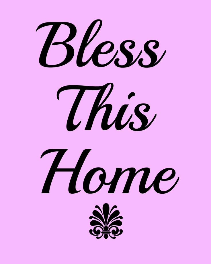 74 best affirmations images on pinterest affirmations positive bless this home affirmation printable 8x10 poster typography instant digital downloadable art decor fandeluxe Image collections