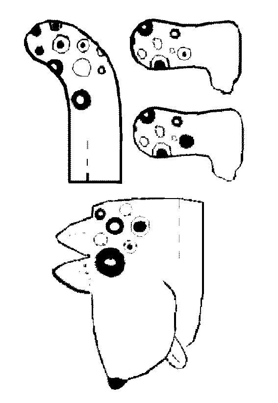Hond bouwplaat