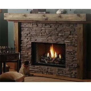 """Check out the Kingsman HBZDV4224 42"""" Wide Zero Clearance Direct Vent Gas Fireplace with Log Set priced at $1,787.40 at Homeclick.com."""