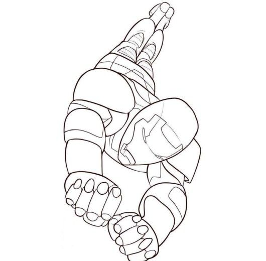 Iron Man 3 Coloring Pages For Kids Free