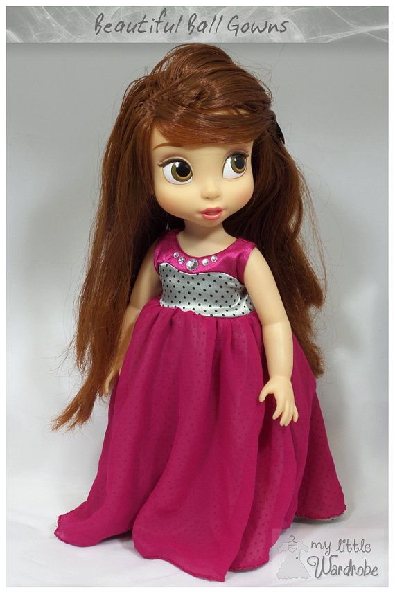 Disney Animator Doll Clothes - Pink ball gown