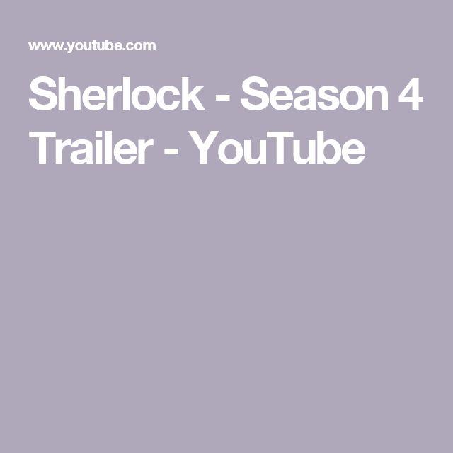 Sherlock - Season 4 Trailer - YouTube